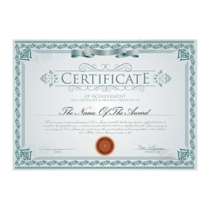 Dyplomy, certyfikaty, vouchery