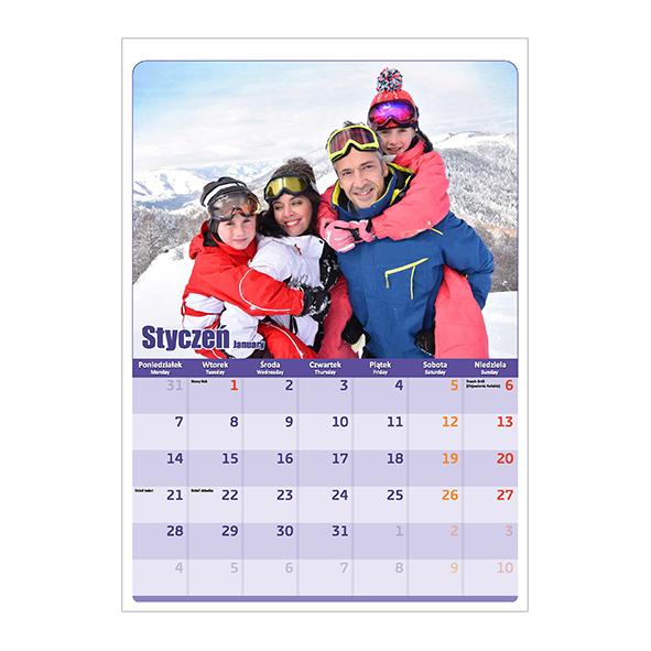 Kalendarz standardowy