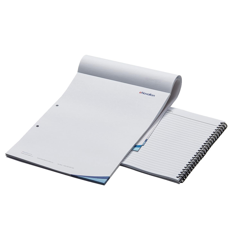Notesy, notatniki, bruliony