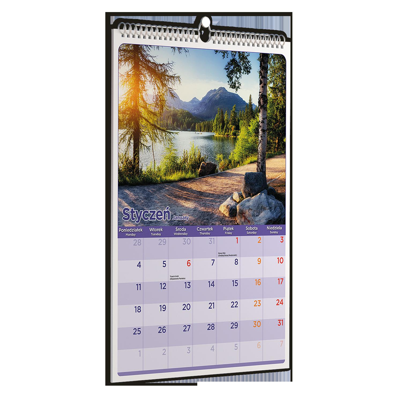 Kalendarze pionowy ze zdjęciami