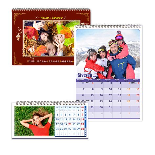 Kalendarze ze zdjęciami