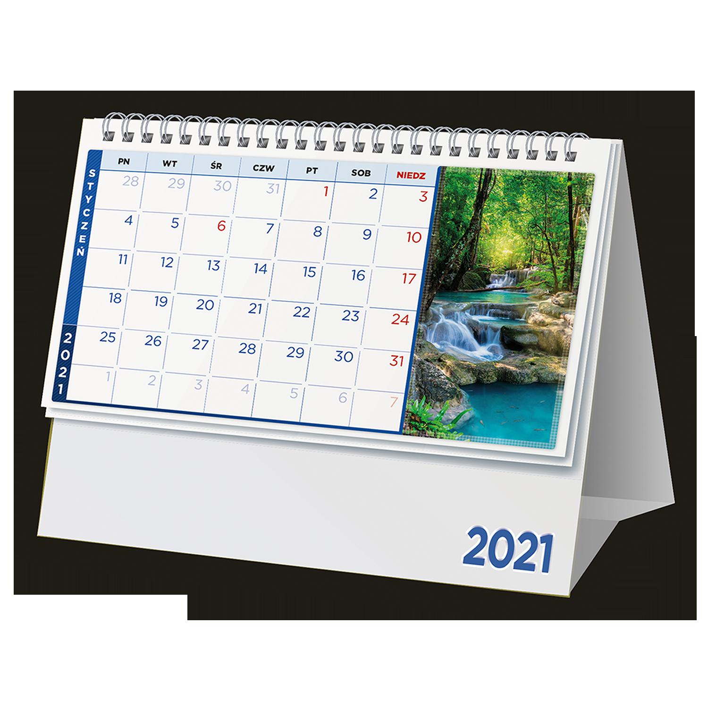Kalendarz biurkowe ze zdjęciami