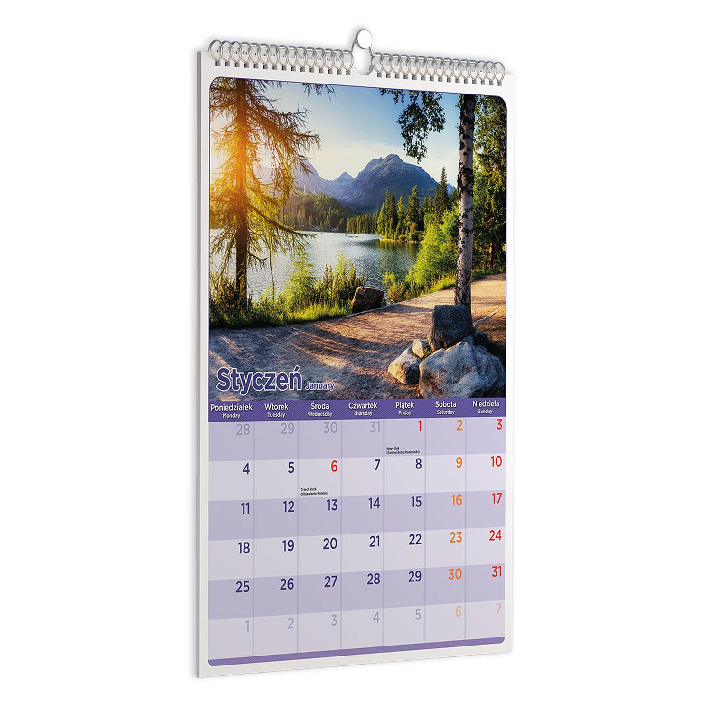 Kalendarz pionowy
